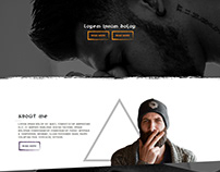 Website tattoo template