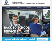 Volkswagen OEM Email Designs