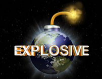Explosive motion graphics