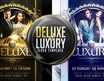 Deluxe & Luxury Flyer Template