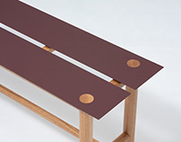 Dot collection (2019) / Lino-board