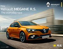 Campaign Renault MEGANE R.S.