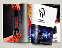 Magazine design and business cards