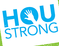 #HouStrong T-Shirt Design