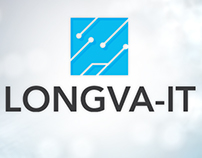 Longva IT Logo and webdesign