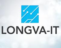 Longva IT Logo and webdesign