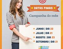 Campanha interna de vendas - Educa Mais Brasil