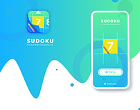 UI/UX Mobile. Game Sudoku