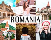 Romania Mobile & Desktop Lightroom Presets