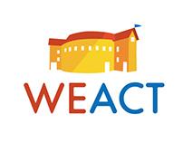 WeAct - Kids Acting Studio - Logo