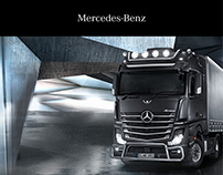 Mercedes-Benz Trucks -Kommunikationskonzept Pitch