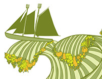 Maine Sail Freight illustration