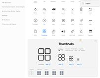 Online Tool for Mobile UI/UX Designers: iOSGLYPHS.com