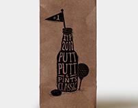 Putt Putt & Pints Classic Branding // Logo