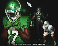 UNT New Football Uniforms: by Brett Gemas