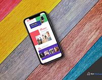 Free Colourful iPhone X Mockup