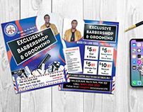 Flyer For BarberShop Business