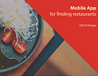Mobile App - Where to eat? Food & restraurants.