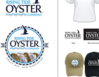 Rising Tide Oyster Company Logo Design