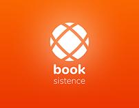 Booksistence — Books App Mystery Logo Template