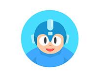 Round Icons V: Mega Man I