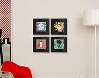 Icon Portrait Pop Art