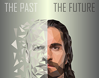 Wrestlemania 33 poster. Triple H vs Seth Rollins