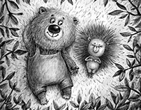Sketches based on fairy tales by Sergei Kozlov