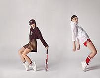 Studio Sports Fashion Shoot