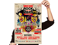 Cartel Miche Rock 2015