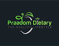 Praadom Dietary The Healthy Lifestyle Logo
