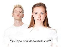 Établissement Français du Sang - Publicité
