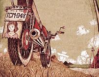 《野狼125》專輯插圖設計