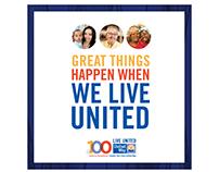 United Way Annual Campaign Brochure Design