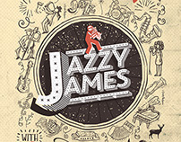 Jazzy James Branding + Event Poster