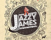 Jazzy James Logo Identity