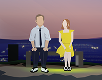 La La Land Vector Tribute