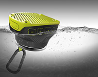 Outdoor Bluetooth Waterproof Floating Speaker