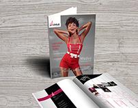 Fashion magazine & logotype design