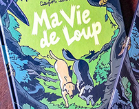 "Colors for ""Ma Vie de Loup"" GN"