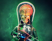 Mars attacks Fan art