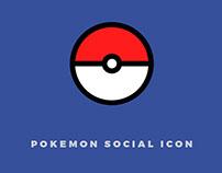 Pokémon Social Icon
