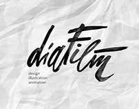 Diafilm. Animation studio.