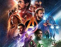 Avengers: Infinity War Dolby Cinema Poster