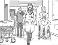 Savola Storyboard Sketches