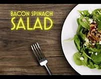 Salad, Burgers & Beer