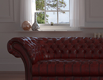 Chesterfield Sofa - WIP