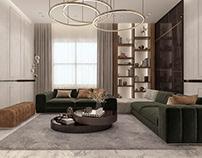 Private Villa - Contemporary Living Area