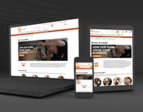 Home Depot - Responsive Product Landing Page