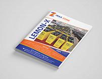 Company Profile Design -Imax Zone